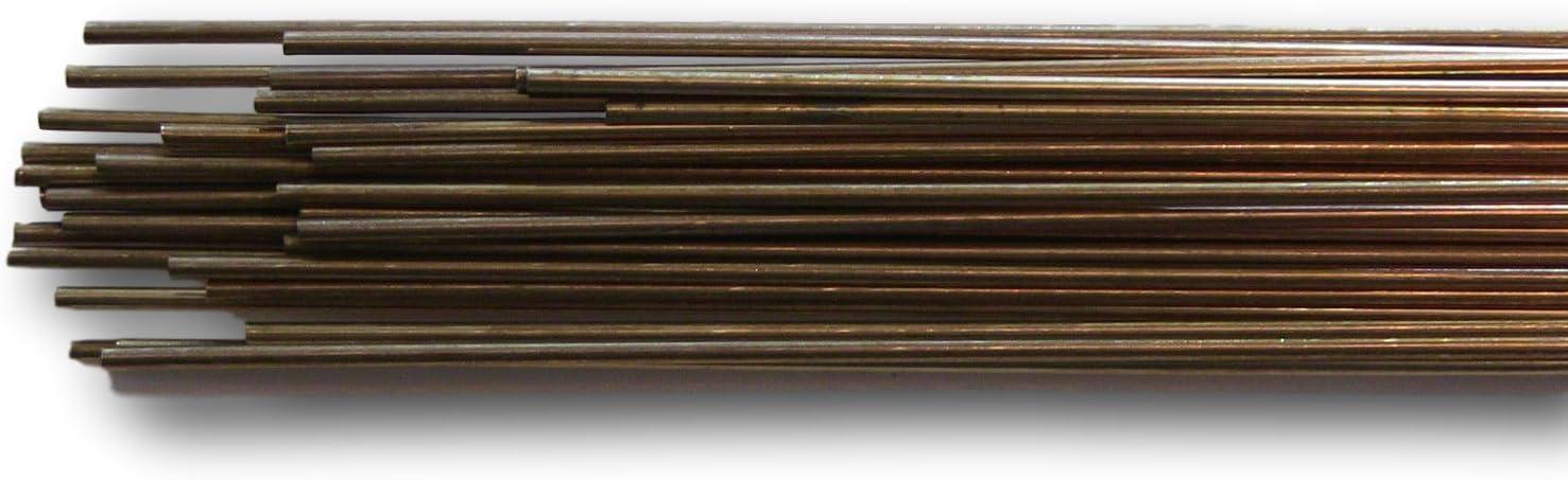 "ERCuAl-A2 X 1//8/"" X 36/"" X 10 lb box TIG rod Aluminum Blue Demon copper wire"