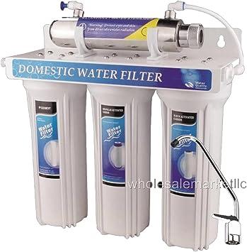 Esterilizador UV de Agua Potable Sistema de filtro purificador de ...