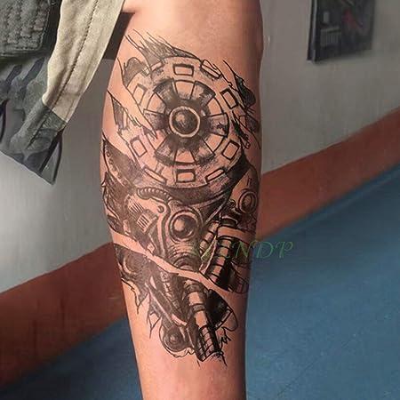 3 Unids Impermeable Etiqueta engomada del Tatuaje Temporal ...