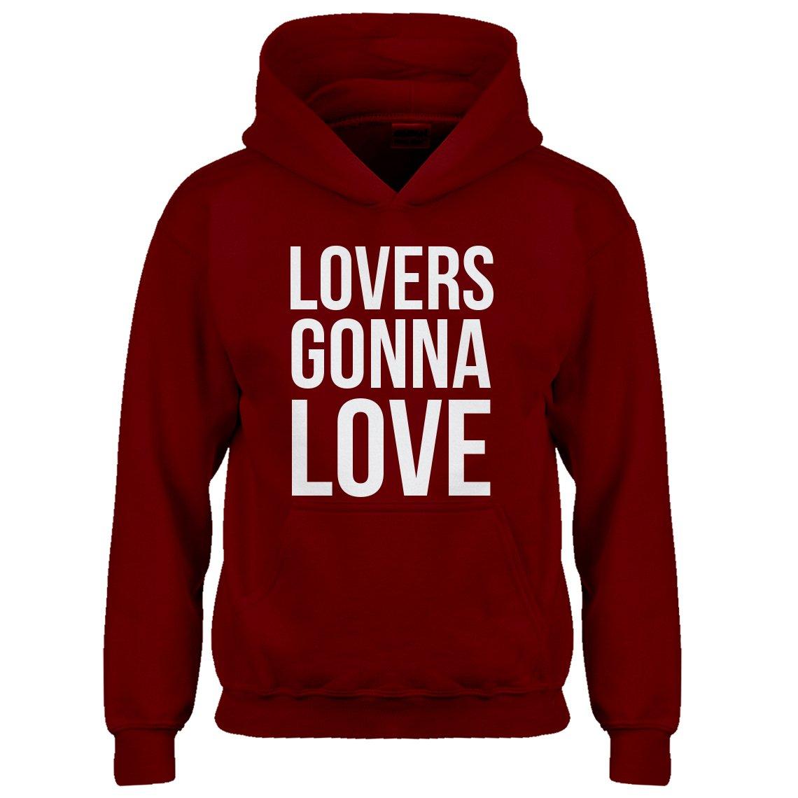 Kids Hoodie Lovers Gonna Love Medium Red Hoodie by Indica Plateau (Image #1)