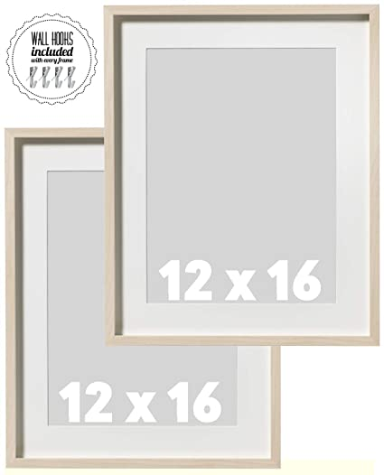 Amazon.com - IKEA Wall Picture Frame Natural Birch Wood Color - 12 x ...