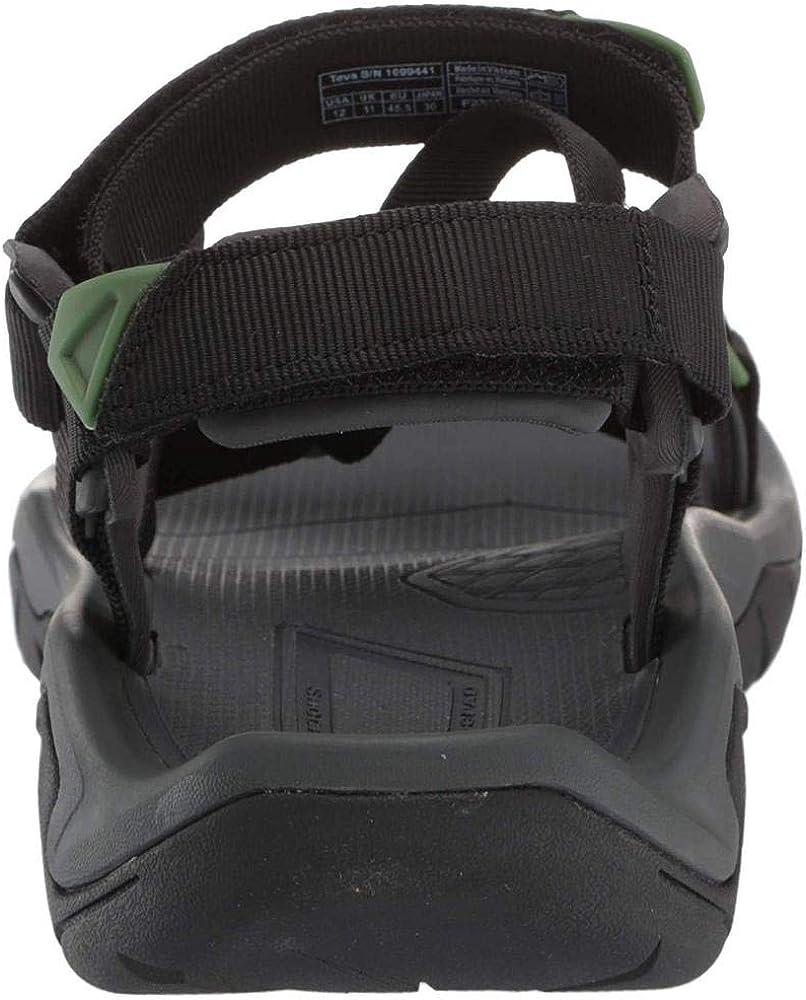 12 Medium US Black Teva Mens Mens M Terra FI 5 Sport Sandal