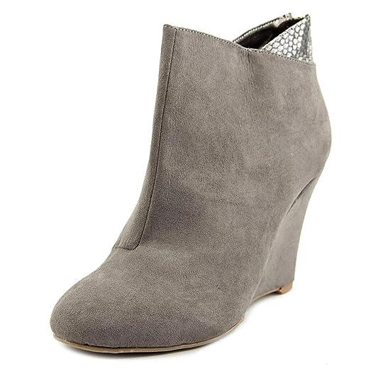 Sodi Lidiaa Open Toe Synthetic Wedge Heel