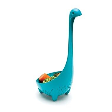 Ototo Mamma Nessie Colander Spoon, Turquoise