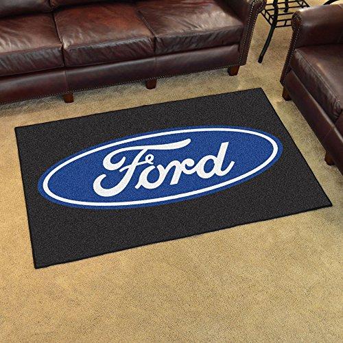(NASCAR Ford Oval 4 x 6 Rug, 46