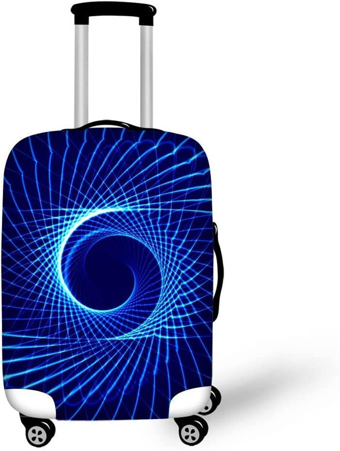 Beautiful Lines Print Luggage Protector Cover Suitcases Covers Luggage Covers Accessory Bags Travel Trolley Case Cover