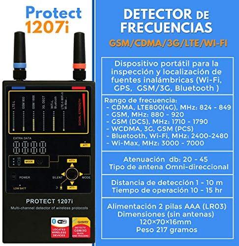 Detector De Radio Frecuencias GSM, WIFI LTE, 3G, 4G   1207i ...