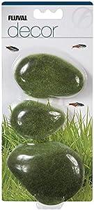 Fluval Decor 3 Moss Stones for Aquarium, Large