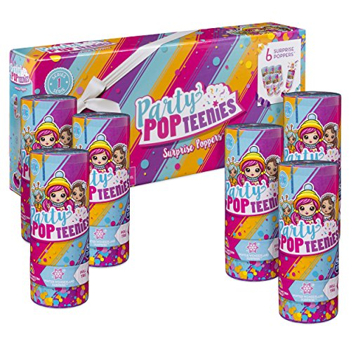 Party Popteenies 6 Surprise Popper Bundle Only $6.88 (Was $24.99)