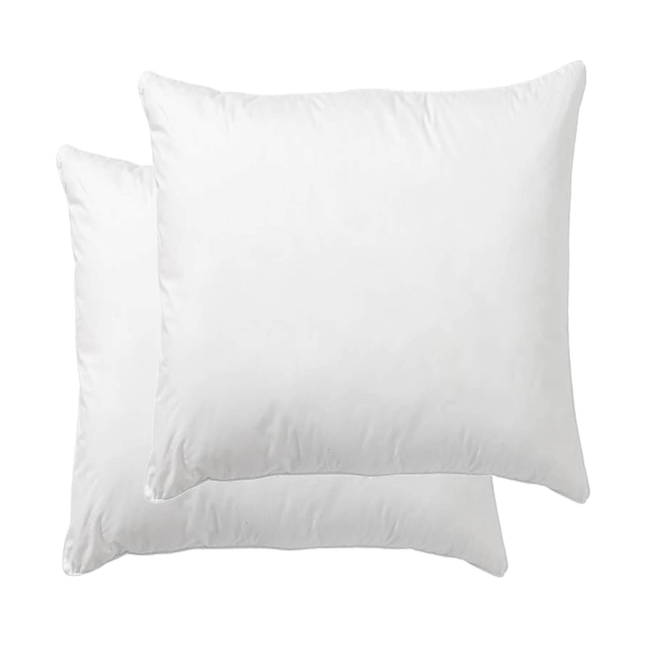 Danmitex Set of 2-18x18-Down Feather Throw Pillow Inserts-Cotton Fabric