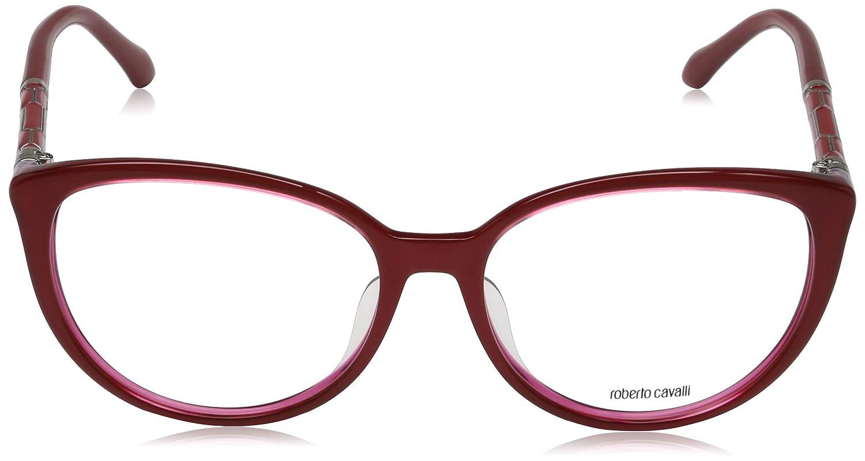 Rot Rosso Roberto Cavalli Brillengestelle RC0963 068-58-16-145 Montature 58.0 Donna