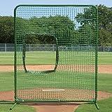 BSN Varsity Softball Protector Screen, Medium/7' x 6'