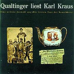 Qualtinger liest Karl Kraus. Eine Auswahl