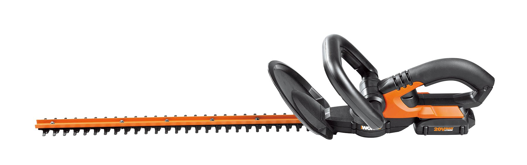 Worx WG255.1 20V PowerShare 20'' Cordless Electric Hedge Trimmer