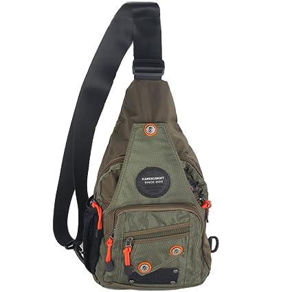 412511a885 Amazon.com   Kawei Knight Sling Bag for Men