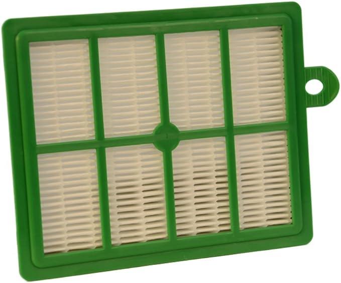 2 HEPA-Filter geeignet für Philips FC 9161 20 Staubsaugerbeutel