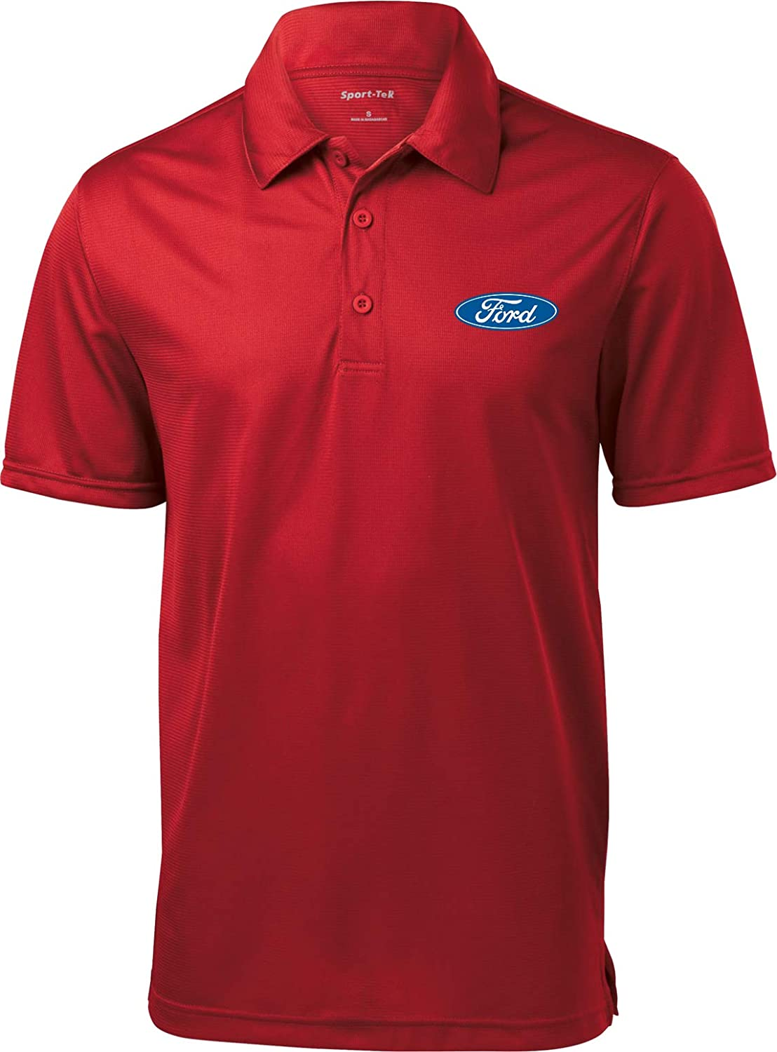 Buy Cool Shirts Ford Oval Textured Polo Pocket Print 18147E9-PP-ST690