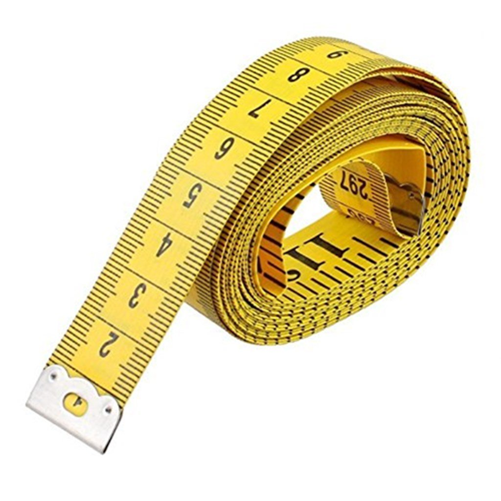 Namgiy Soft Tape Measure For Sewing Dress Makers Cloth Ruler Tailors Fabric Tapeline 120 Inches