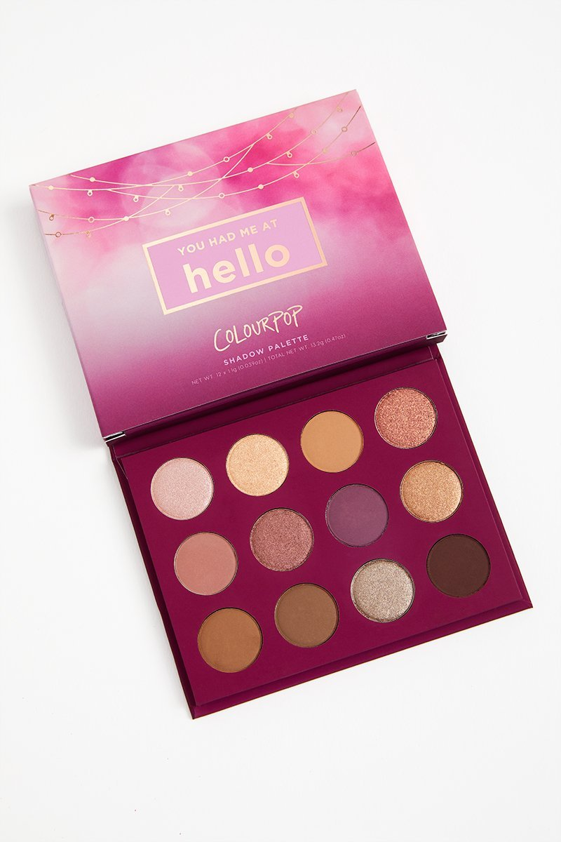ColourPop - Pressed Powder Shadow Palette - You Had Me At Hello