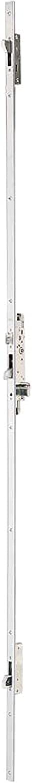 Tesa Assa Abloy 2230P33AI Cerradura Monopunto para Perfiles Metálicos, Inoxidable, 30mm