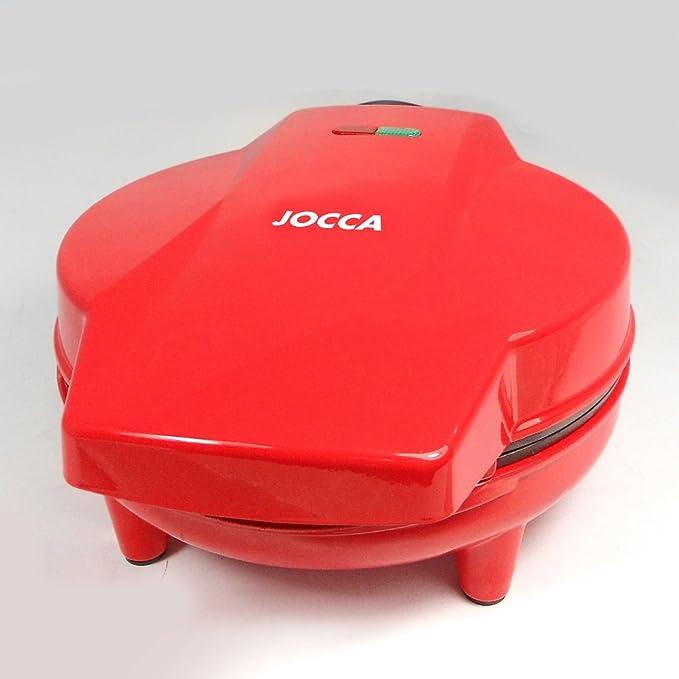 Jocca 5512 Máquina de hacer cupcakes, color rojo, 900 W, Aluminio ...