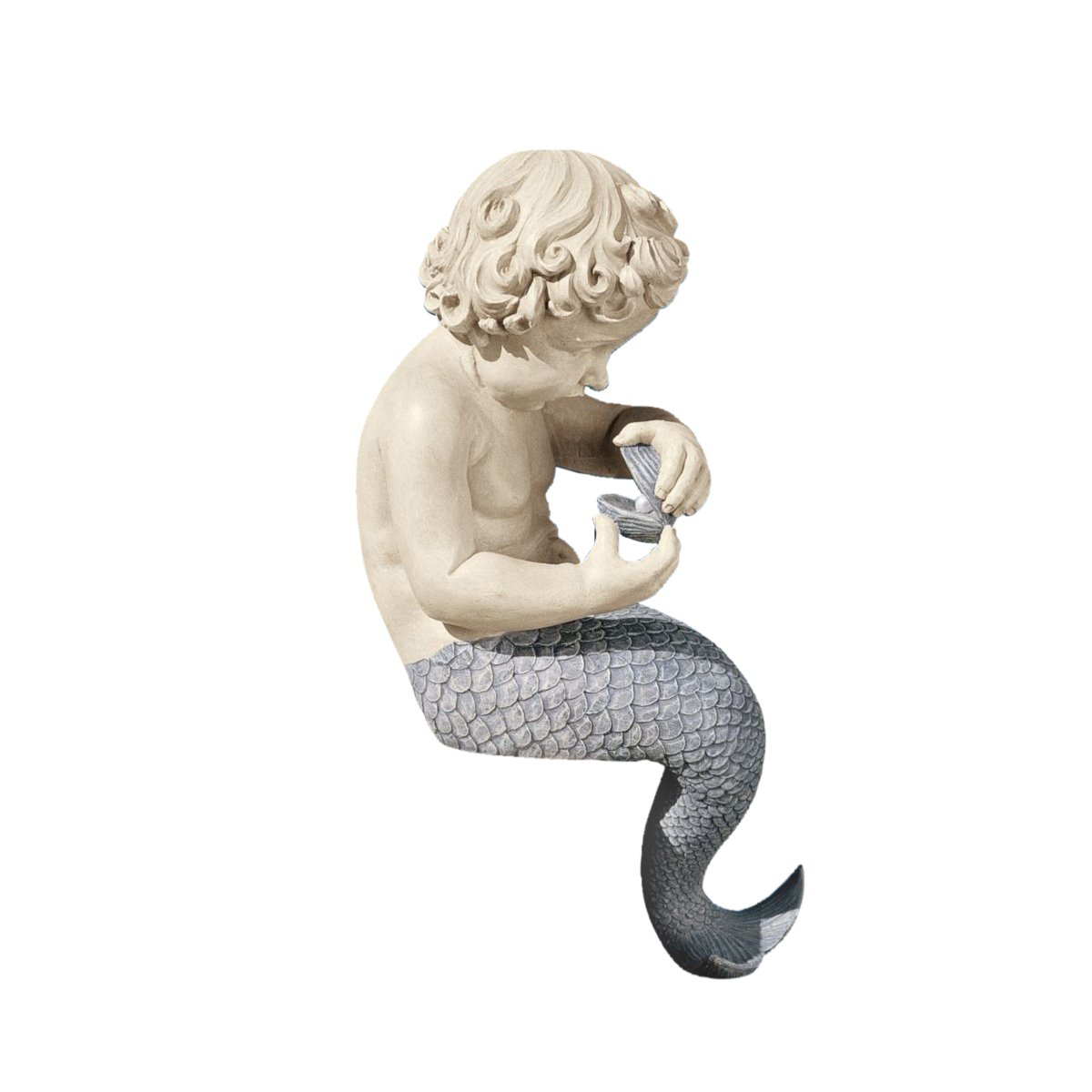Design Toscano The Ocean's Little Treasures Sitting Sculpture