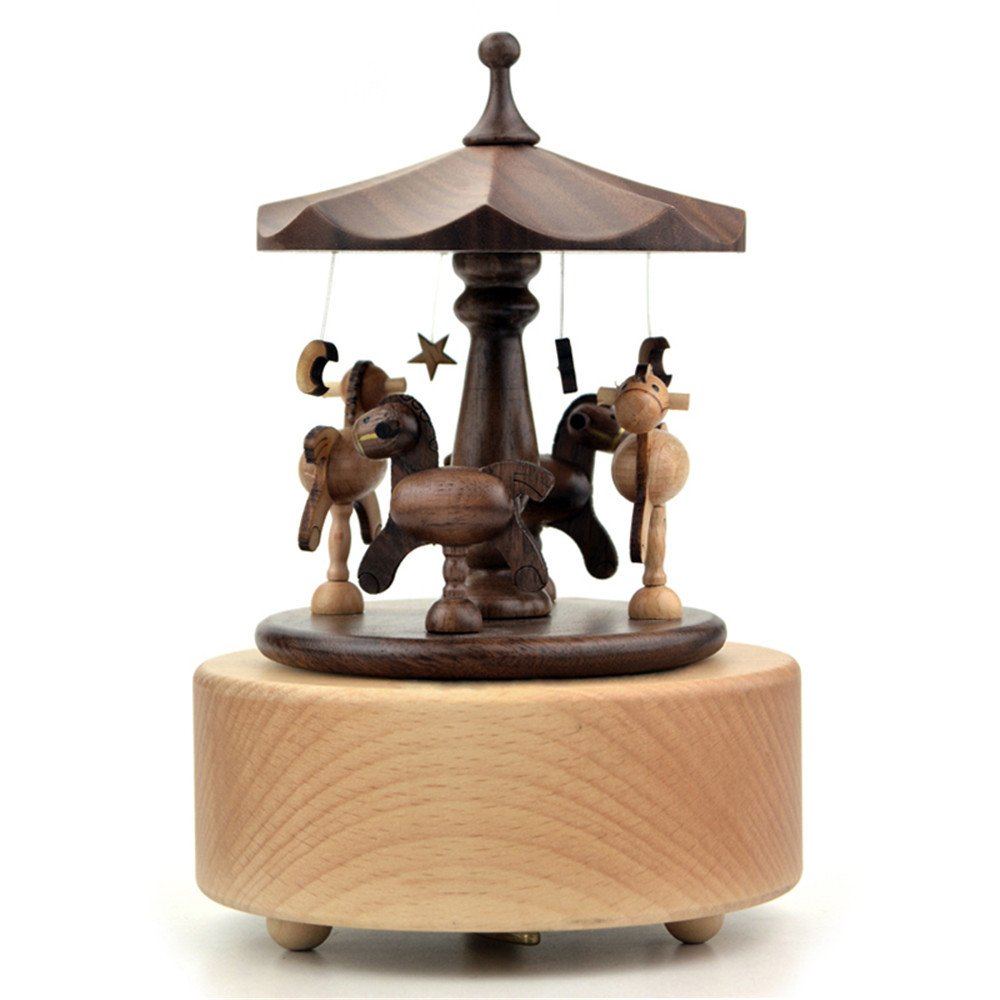 選ぶなら Laxury Wooden Musical B01H4PXI66 Carousel 18-note Wind - - 18-note Up Musicalボックス、ミュージカルおもちゃの誕生日ギフト、再生The Castle In The Sky B01H4PXI66, ハスダシ:47c5f1f7 --- egreensolutions.ca