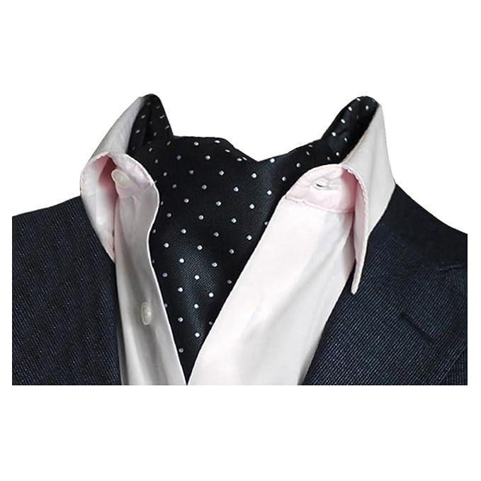 618690c7d YCHENG Pañuelo Hombre Corbatas Moda Lunares Cravat Chalina para Banquete y  Boda Fiesta A01: Amazon.es: Ropa y accesorios