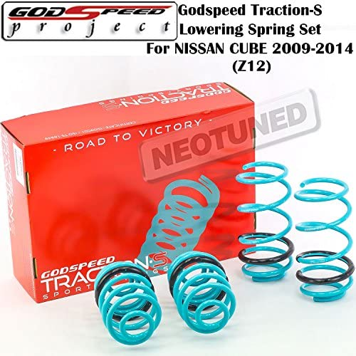 Godspeed Traction-S Lowering Springs For MAZDA6 2009-2013 2.5L GH  LS-TS-MA-0007