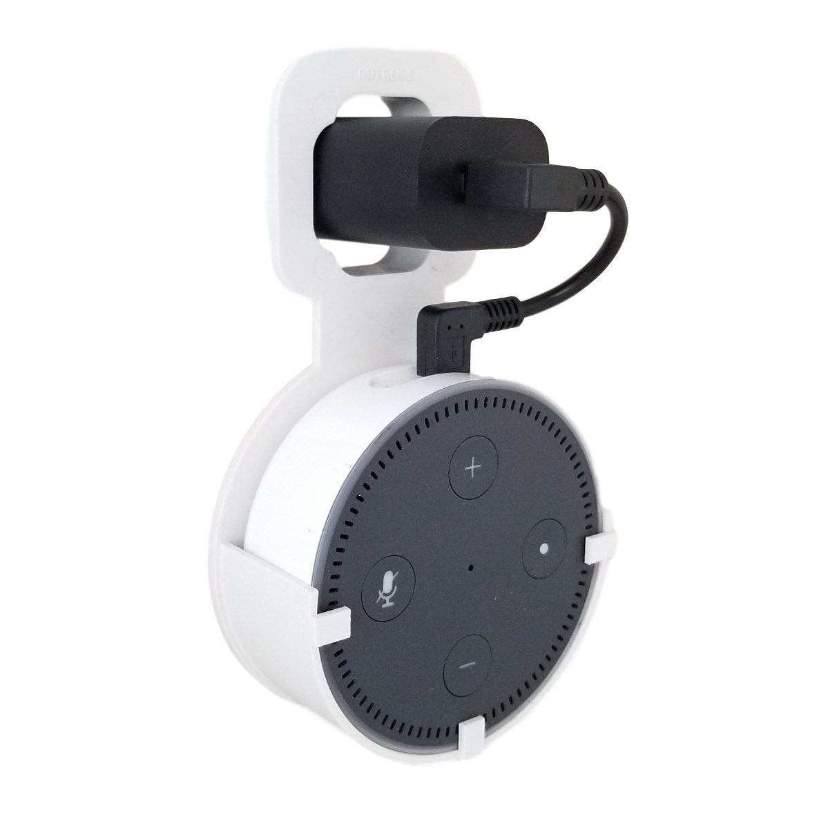 the spot outlet wall mount hanger stand no messy wires or screws