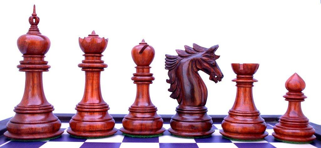 Staunton Castle Chelics Series Premium Chessmen 4.5''