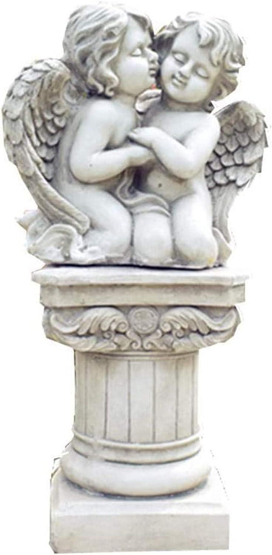 Angel Statue, Peace Angel Figurine Statue Statue of Goddess Garden Resin Sculpture Living Room Decoration Outdoor Decorations