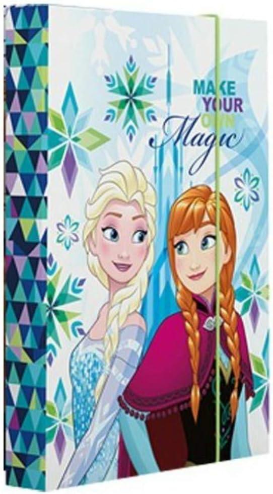 Frozen Heftbox Heftebox Sammelbox Hefth/ülle A4 mit Motivdruck DIE EISK/ÖNIGIN