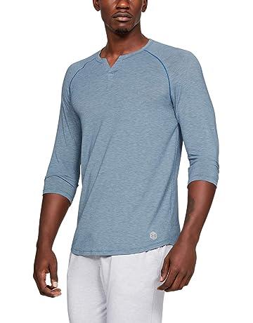 28d3fcbd Under Armour Men's Recovery Sleepwear Henley Undershirt