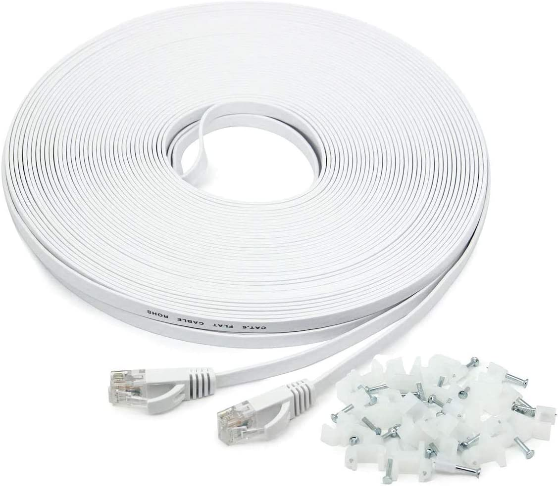 Ethernet Cable 10m Cat 6 33ft Network Cable High Amazon Co Uk Electronics