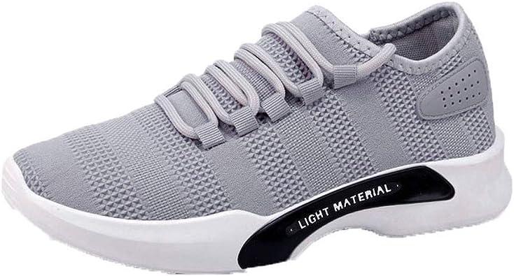 Deportivo Hombre Aire Libre Y Deporte Transpirables Casual Lace Up Zapatos Gimnasio Correr Sneakers, Zapatillas ...