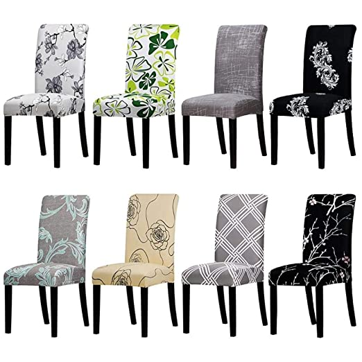 Amazon.com: Hakazhi Inc Printing Floral Universal Size Chair ...