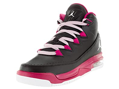 NIKE Jordan AIR Deluxe GG Girls Basketball-Shoes 807714-009 8Y - Black Sport a875a01ac