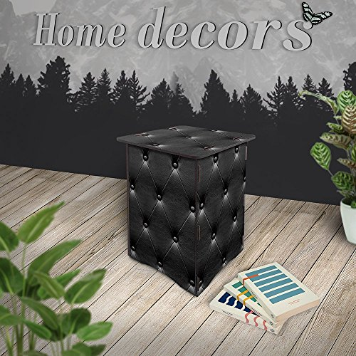 Cool Print Children Single Step Stools Easy 3D Diy Wooden Jigsaw Puzzle Chairs Pretty Home Decor Decoration Furniture Puzzle Step Stool-WD1-Leather2