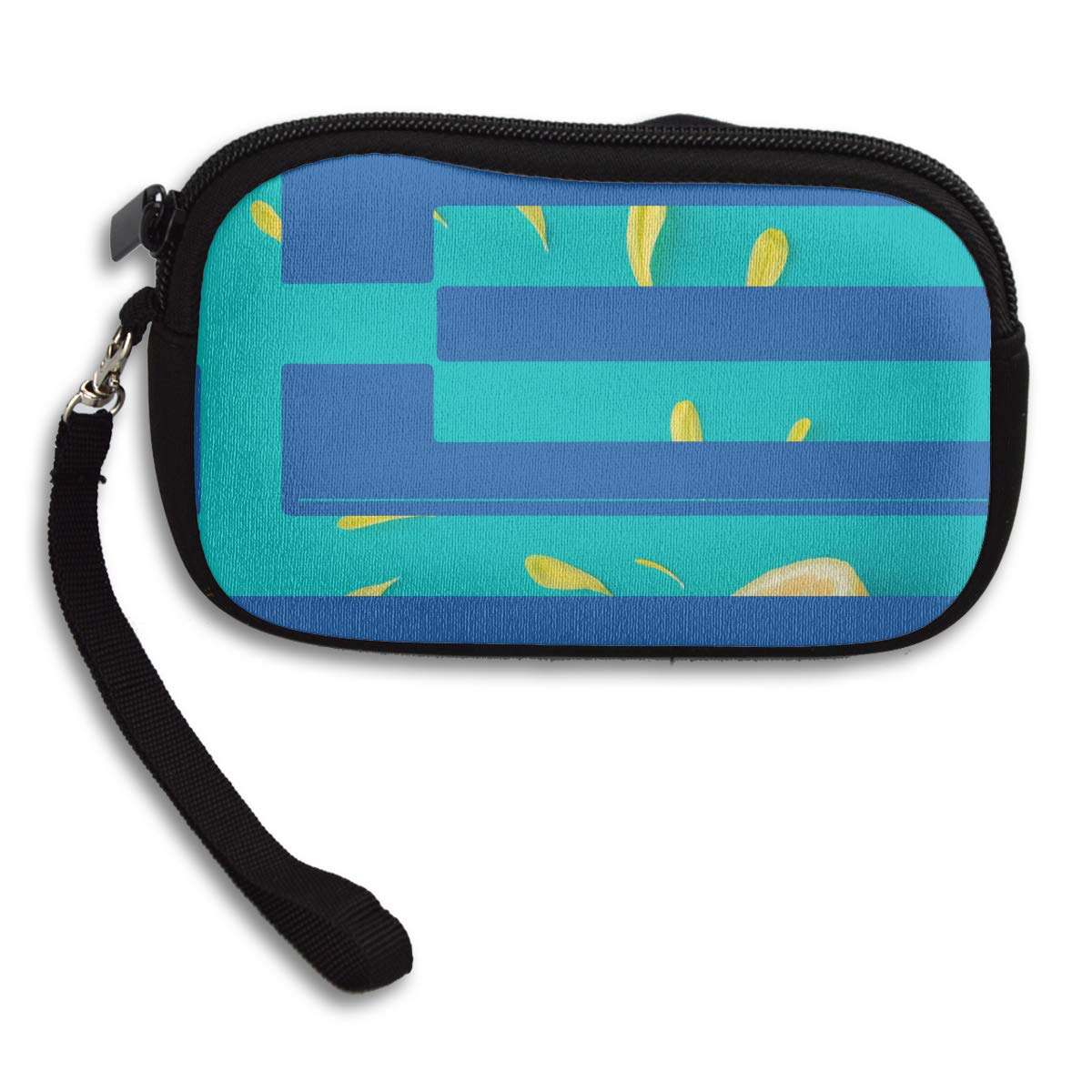 Greek Flag Deluxe Printing Small Purse Portable Receiving Bag