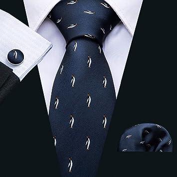 HYCZJH Pequeños Patrones Corbatas para Hombres Corbatas Casuales ...