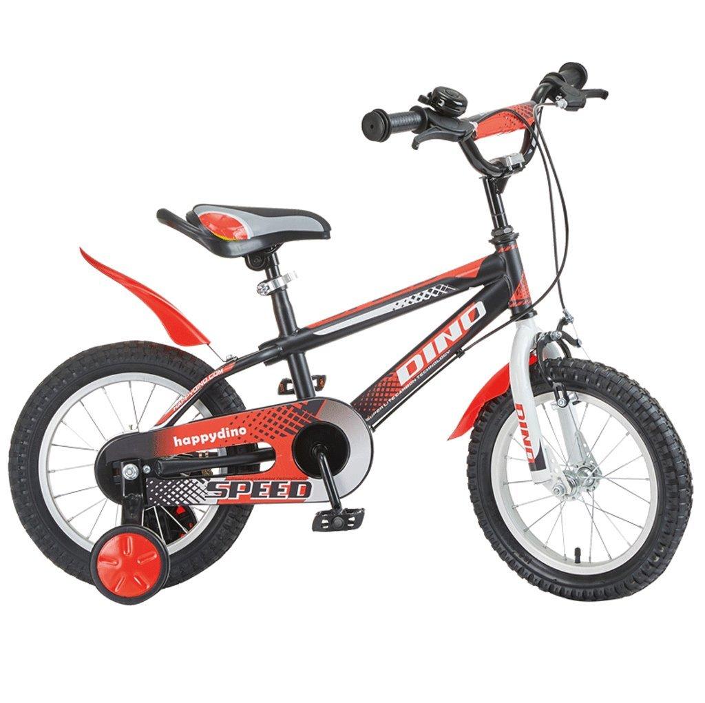 子供用自転車121416インチ男性と女性の赤ちゃんの自転車男の子と女の子の自転車 (色 : 赤, サイズ さいず : 12インチ) B07D7757MG 12インチ|赤 赤 12インチ