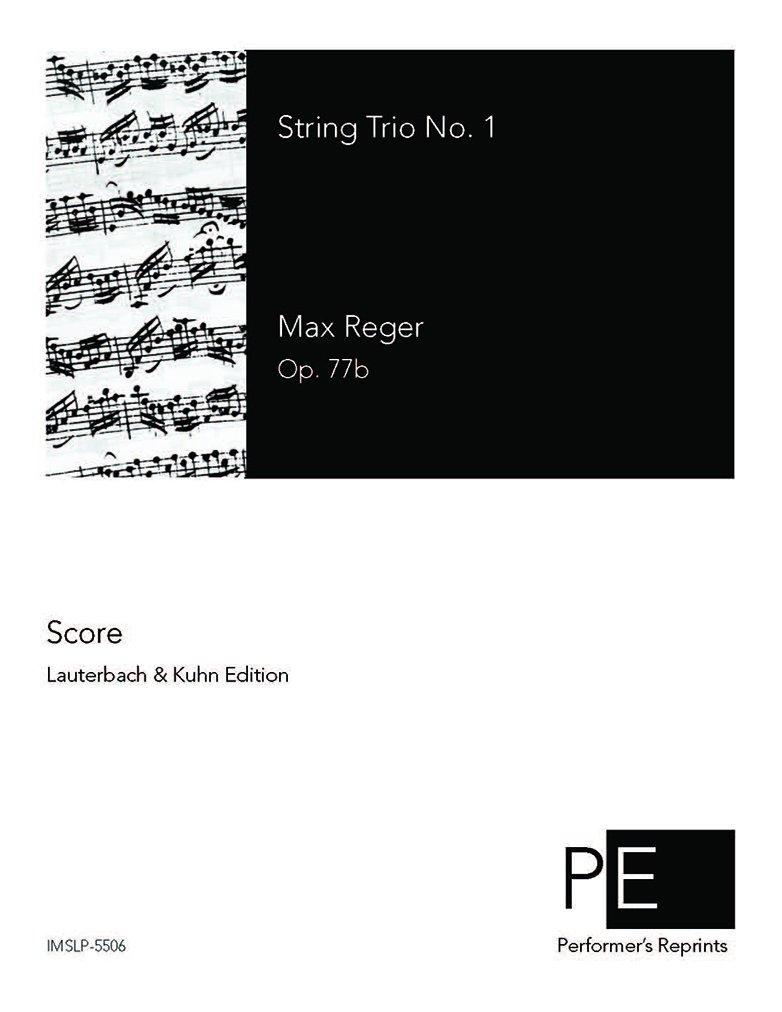 Read Online String Trio No. 1 in A minor - Score pdf epub