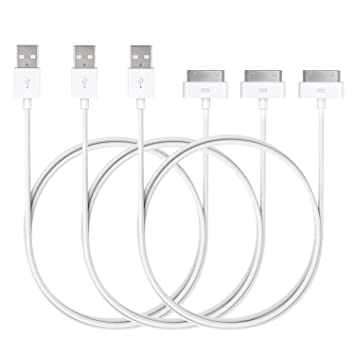 JETech Cable de Datos USB Carga Cargador para iPhone 4/4s ...