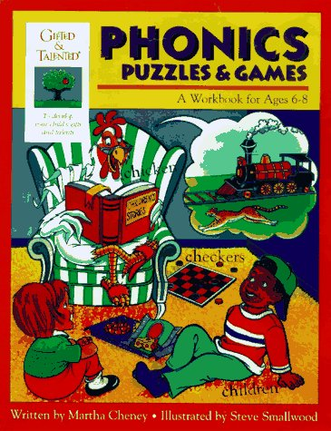 Phonics Puzzles & Games: A Workbook for Ages 6-8 (Gifted & Talented)