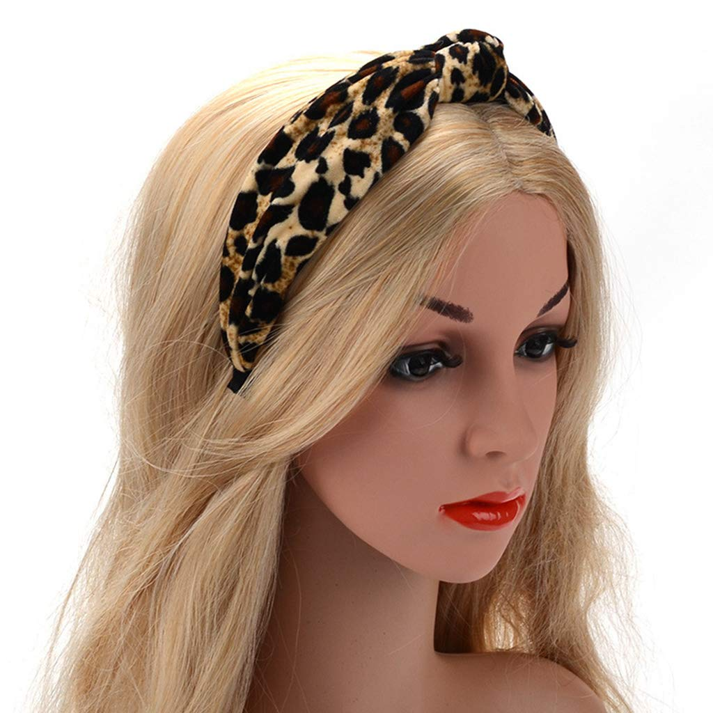 Girl's Hair Accessories Cheap Price Patchwork Cross Headband Female Lady Top Knotted Hair Band Wide Turban Girls Simple Hair Hoop Women Hair Accessories Headwear Fashionable And Attractive Packages Apparel Accessories