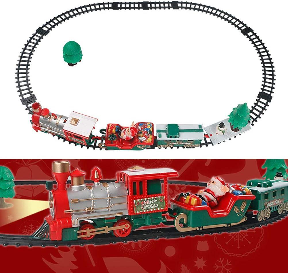 Mit Lokomotive Kinder Spielzeug Weihnachten Eisenbahn Further Kinder Kleine Bahngleis Spielzeug Elektrische Eisenbahn Weihnachten Mini Spielzeugeisenbahn Mit Musik Licht