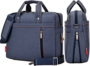 YIYINOE Shoulder Bag for 14 inch Laptop Business Briefcase Waterproof Messenger Bags Blue