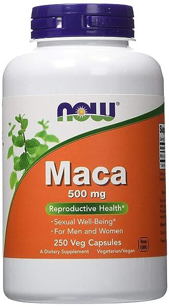 Pastillas Maca Para Hombres - Aumenta La Testosterona Y Potencia Sexual Masculina - 250 Cápsulas