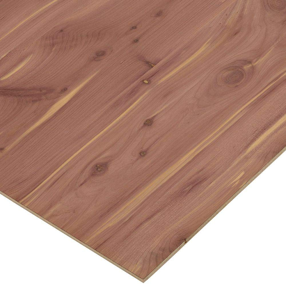 8 x 13 Inches unfinished CEDAR plywood Craft Plywood 3 PACK 3//4Thick